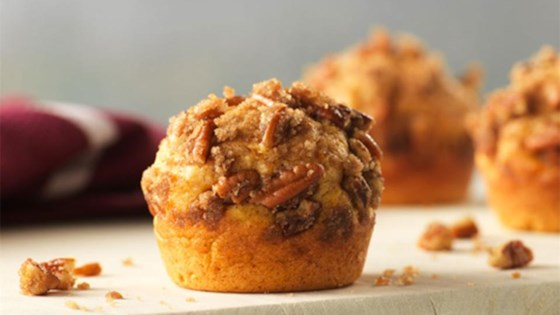 Sweet Potato Muffins with Pecan Streusel