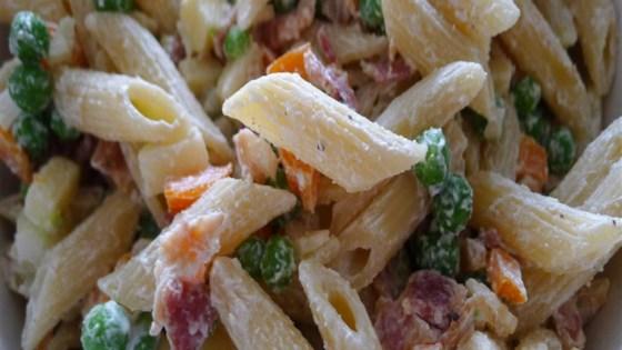 Photo of Greek Yogurt Pasta Salad by Laura Miller