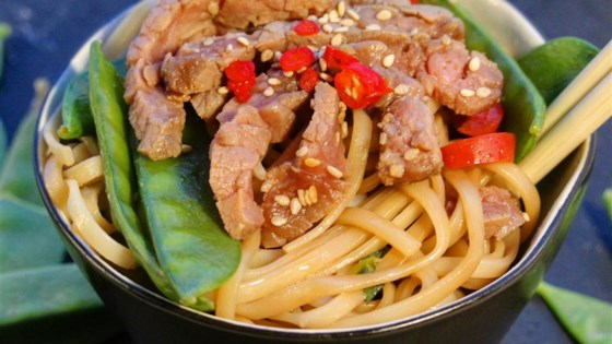 Photo of Asian Steak and Noodle Bowl by Chrissy Gaynor