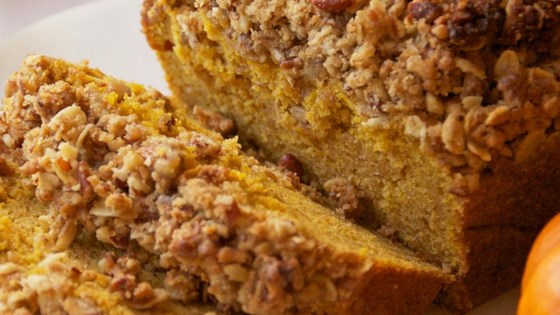 Photo of Walnut Streusel Pumpkin Bread by Finlandia Cheese