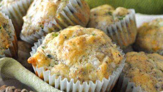 Broccoli Quiche Muffins