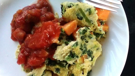 Photo of Sweet Potato and Kale Scrambled Eggs by Brian Jacobs