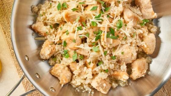 Photo of Easy Skillet Chicken & Riced Cauliflower by Green Giant