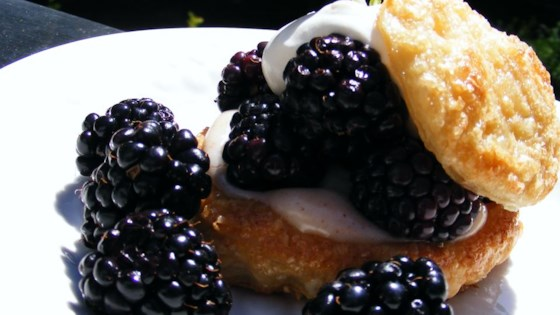 Photo of Blackberry Puff Pastry Tarts by tovlakas
