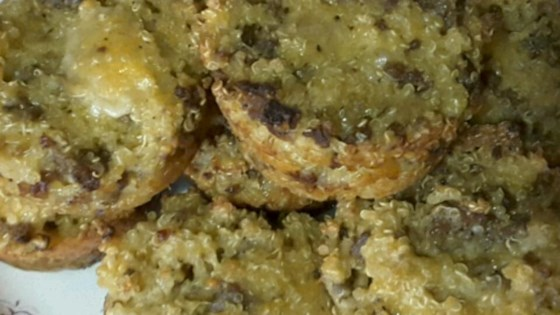 Photo of Savory Turkey Sausage Quinoa Bites by DeniseInTexas