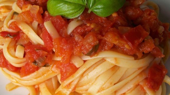 Photo of Fresh Tomato Basil Sauce by MINDIM