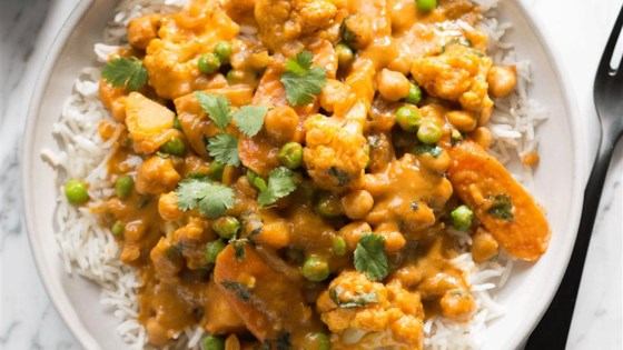 Crazy Creamy Chickpea Curry Recipe