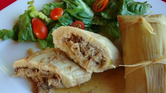 Real Homemade Tamales Recipe