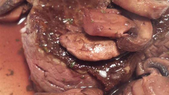 Photo of Less-Butter Steak Diane by Heidi-Ho