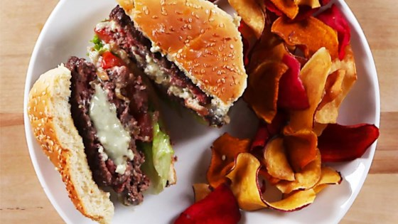Photo of Blue Cheese Fig Burgers by Stella Cheese