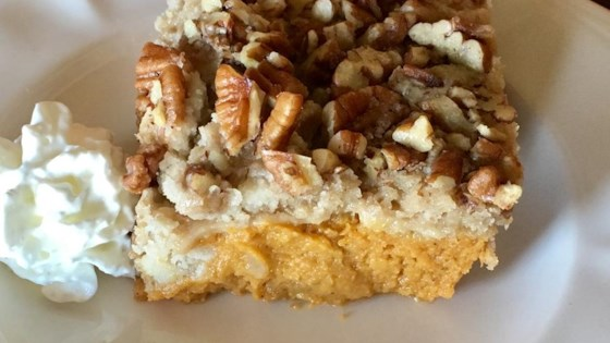 Photo of Pumpkin Spiced Dump Cake by Stacy