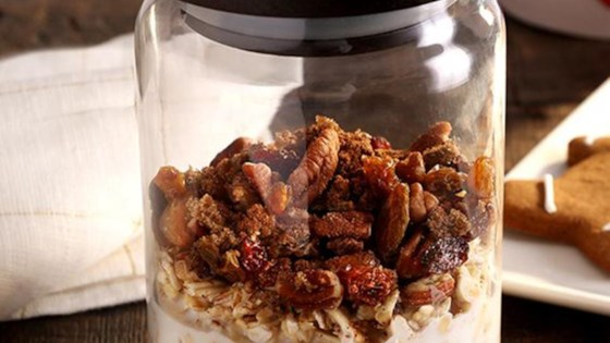 Photo of Gingerbread Overnight Oats by Quaker®