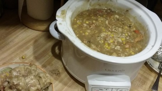 Photo of Slow Cooker Turkey Soup with Dumplings by Cassandra1981