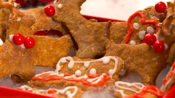 Photo of Cosmos Reindeer Cookie Dog Treats by Fuller House
