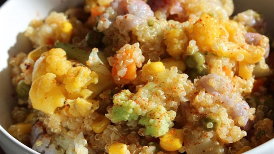 Photo of Healthy Quinoa Salad by kristentulk