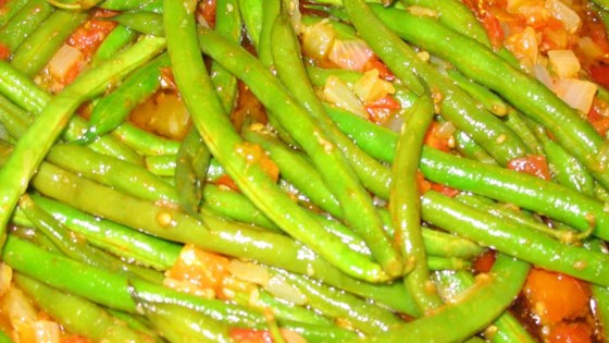 Photo of Greek Green Beans by COLEE576