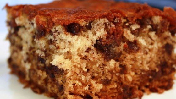 Banana Chocolate Chip Cake Recipe Allrecipescom