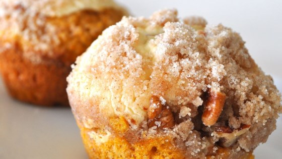 Photo of Pumpkin Cream Cheese Muffins by Barb
