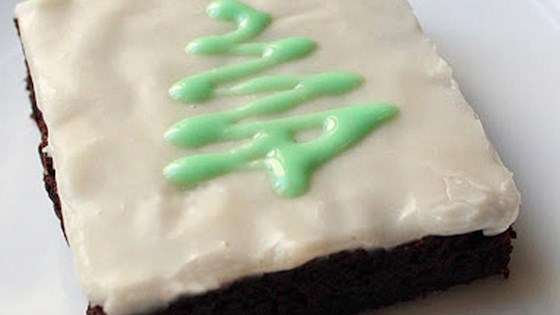 Photo of Chef John's Chocolate Mint Brownies by Chef John