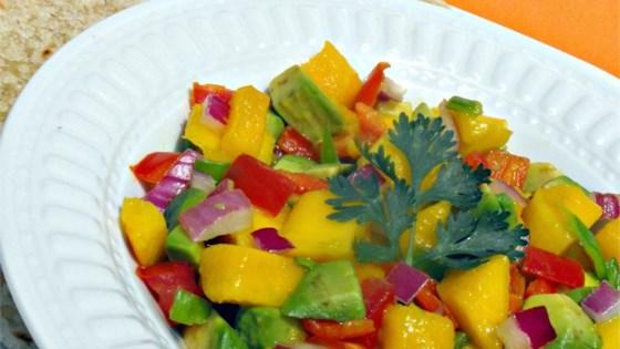 Avocado-Mango Salsa Recipe