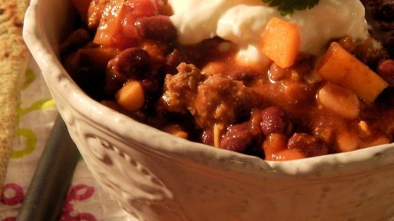 Granny Franny's Persimmon Curry Chili