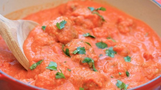 Photo of Thai Meatballs in a Tomato Coconut Curry Sauce by France C.