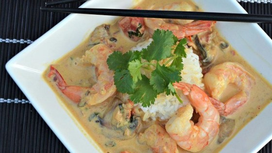 Photo of Thai Shrimp Curry with a Kick by Kim's Cooking Now