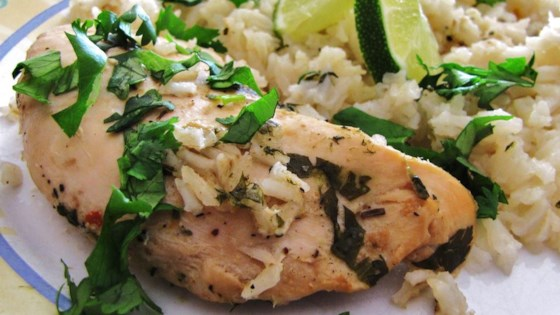 Photo of Slow Cooker Lime Chicken with Rice by Lisa D