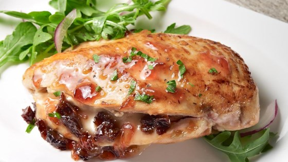 Photo of Prune and Brie Stuffed Chicken by Sunsweet