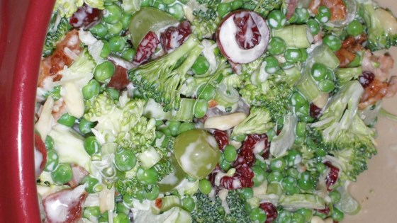 Photo of Raw Veggie Picnic Salad by BAGLEYGERRISH
