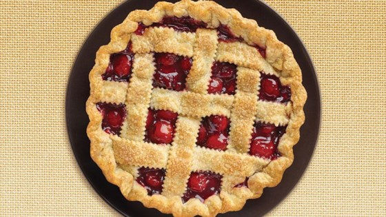 Photo of Cherry Lattice Pie by STEVIA In The Raw