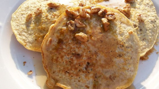 Photo of Pecan-Oatmeal Pancakes by Fred Schwierske