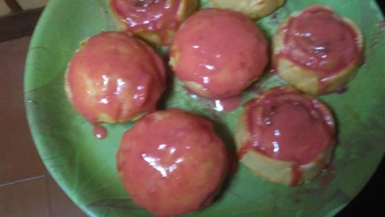 Photo of Honey Cupcakes with Strawberries by MICHELLE0011