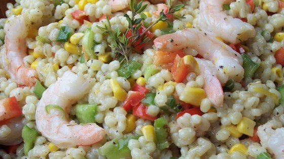 Photo of Barley, Shrimp, and Corn Salad by GERALD GALLOWAY
