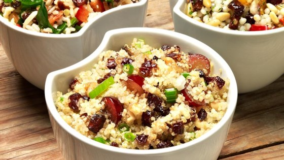 Photo of Quinoa, Grape, and Prune Salad by Sunsweet