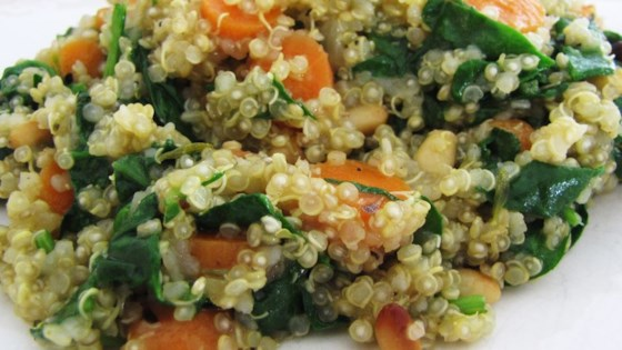 Photo of Carrot, Tomato, and Spinach Quinoa Pilaf by Jess