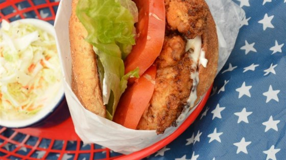 Photo of EZ Fried Chicken Sandwich by Robert F. Gill