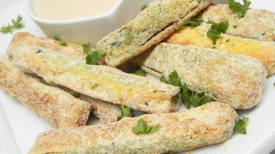 Photo of Baked Zucchini Parmesan Fries by Megan Olson