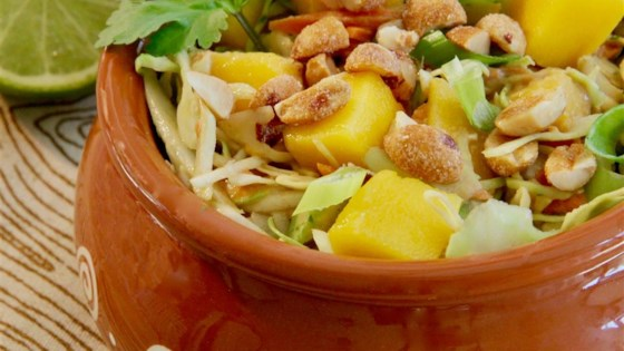 Photo of Cabbage Salad with Mango and Peanuts by Ann D