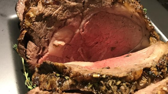 Photo of Garlic Prime Rib by Chef Mike