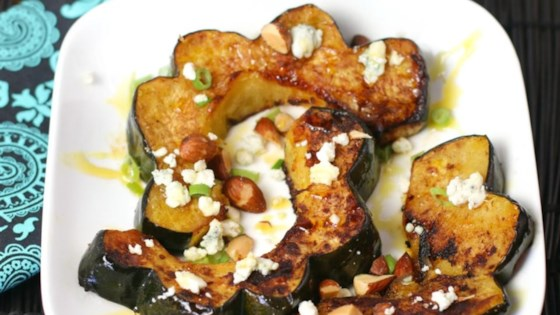 Photo of Roasted Honey Cinnamon Acorn Squash by Culinary Envy