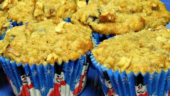 Photo of Banana Walnut Cranberry Muffins by Mel Schwan
