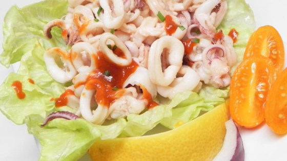 Photo of Spicy Chile Oil Squid by ZAYO