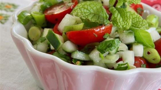 tomato cucumber kachumbar review by iris friedman