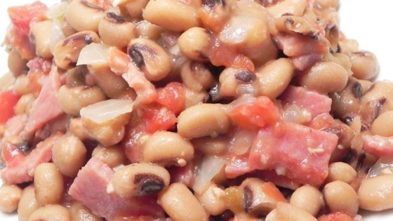 Photo of Deborah's Slow Cooker Spicy Black Eyed Peas by DEBORAH REUTELER