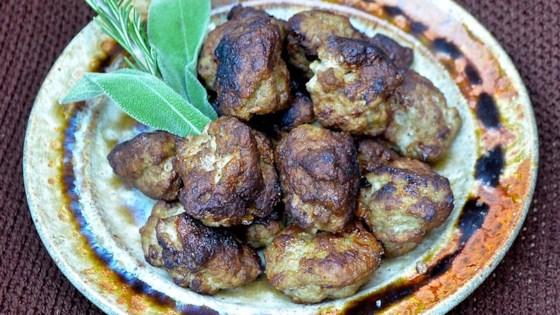 Photo of Paleo Sausage Meatballs by sunmn