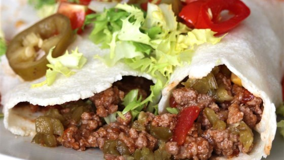 Photo of Spicy Beef Burritos by Luke