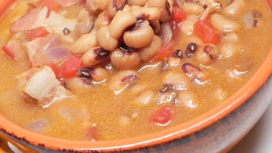 Photo of Spicy Black-Eyed Pea Soup by LISA FRIEND