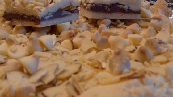 Photo of White Chocolate Hazelnut Spread Bars by Tamara A