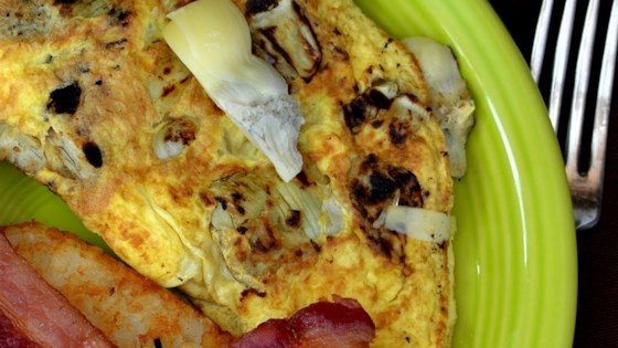 Photo of Italian Artichoke Omelet by sarahsbleucheese
